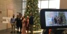 Christmas Eve wedding in Windsor for Rebecca Kralovensky and Hunter Bushnell