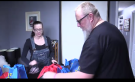Tom and Kristen Termeer pack up their Hope Bags to distribute on Christmas Eve. (Brent Lale / CTV London)