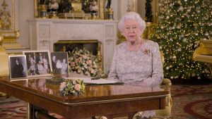 Queen Elizabeth II delivers her annual Christmas Day message