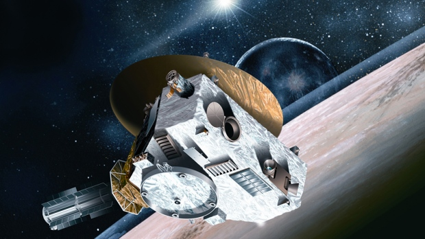 Pluto explorer ushers in new year at more distant world