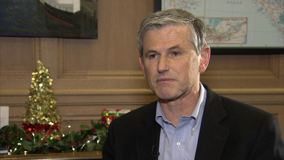 Liberal Leader Andrew Wilkinson sat down with CTV News to reflect on the past year in the legislature.