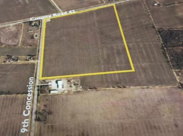 File photo of the proposed location for the new hospital at County Rd 42 and the 9th Concession.