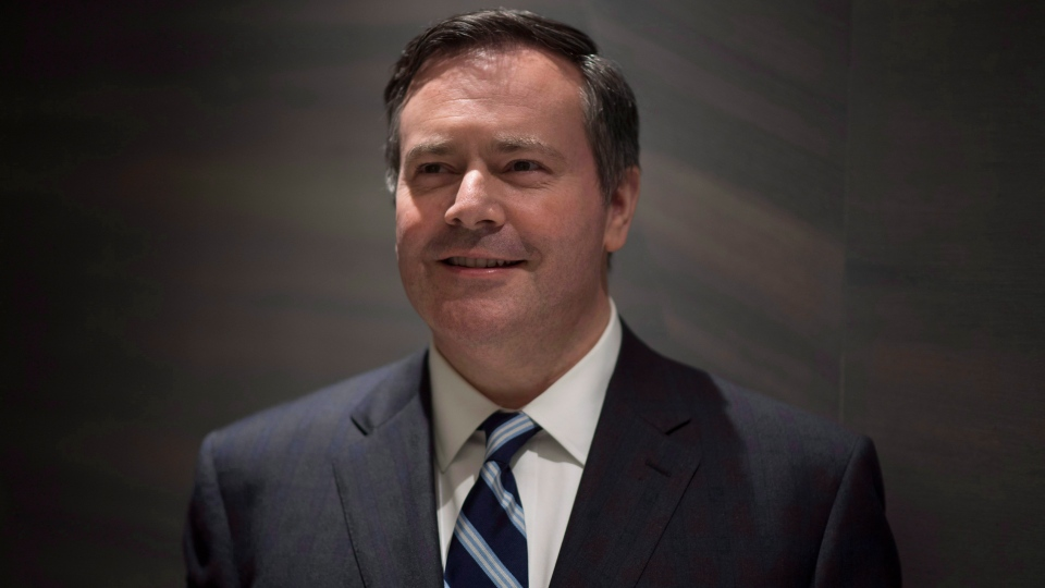 Alberta United Conservative Party Leader Jason Kenney is seen in downtown Vancouver, Monday, March 5 2018. THE CANADIAN PRESS/Jonathan Hayward