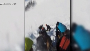 Avalanche victim saved in miracle rescue