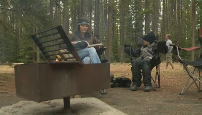 Jasper National Park camping