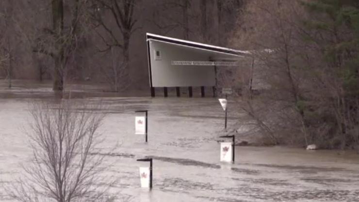 Thames River flooding