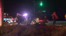 Multi-vehicle crash on Highway 7