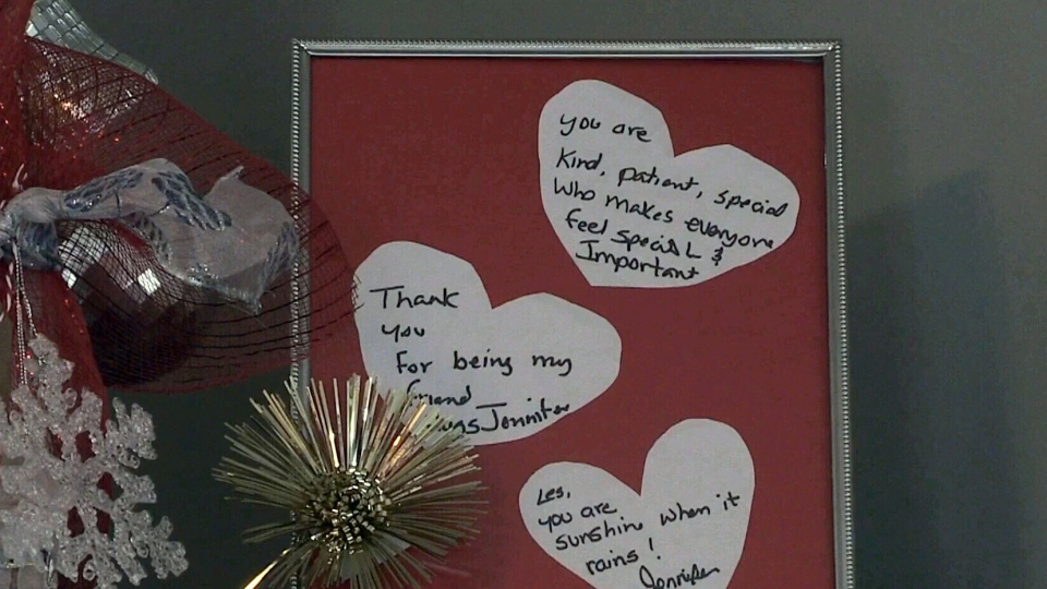 Jar of hearts': P E I  woman gathers 365 messages of support