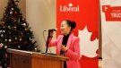 Burnaby South Liberal nominee Karen Wang is shown in this undated photo. (@liberal_party / Twitter)