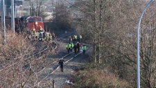 Langley train crash