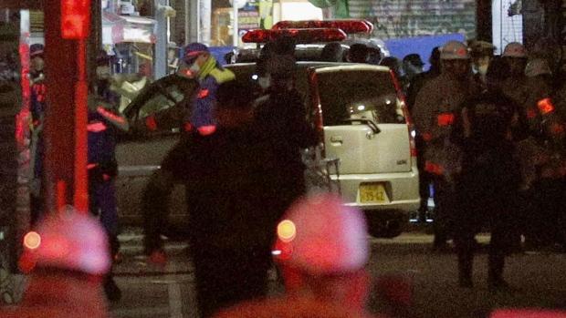 Following a car attack, Takeshita Street in Tokyo