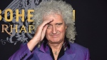 "Original Queen band member Brian May attends the premiere of ""Bohemian Rhapsody"" at The Paris Theatre on Tuesday, Oct. 30, 2018, in New York. (Photo by Evan Agostini/Invision/AP)"