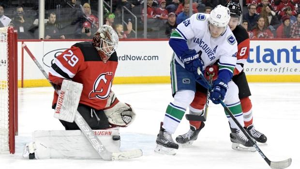 e1418cc47df NHL report  Flames score 8  Canucks shut out  Habs win in OT