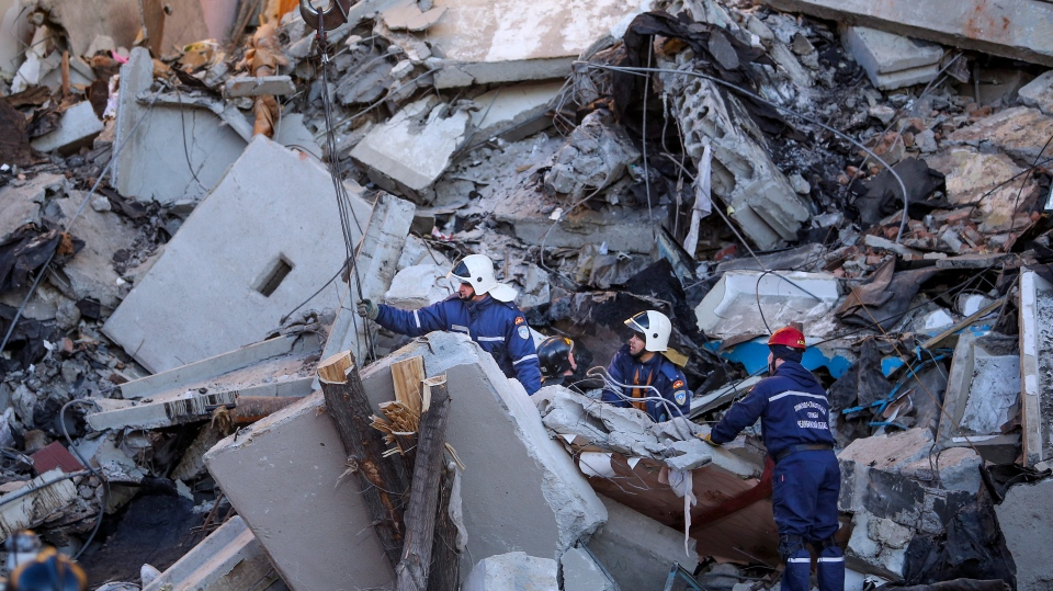 Death toll in Russian apartment collapse rises to 33 | CTV News