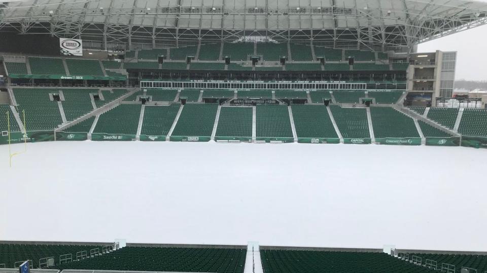 Mosaic Stadium (Joey Slattery / CTV Regina)
