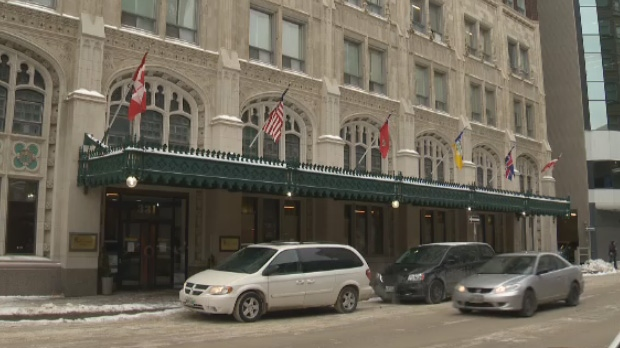 Winnipeg police arrested a man Friday night following separate incidents – the first at the Marlborough Hotel. (File image)