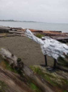 bird art sculptures esquimalt lagoon