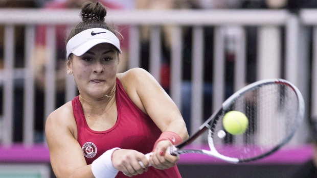 18-year-old Bianca Andreescu reaches the final in Auckland