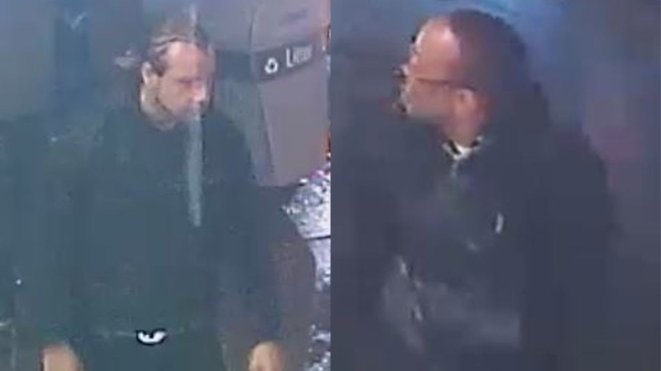 Two suspects wanted in connection with an assault on a 36-year-old man in Toronto's downtown core on New Year's. (Toronto police handout)