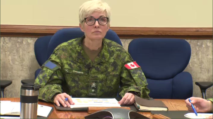 Brigadier-General Jennie Carignan is one of the highest ranking women in the Canadian Armed Forces - the first and only woman to rise up the ranks from combat to General. (CTV Montreal)