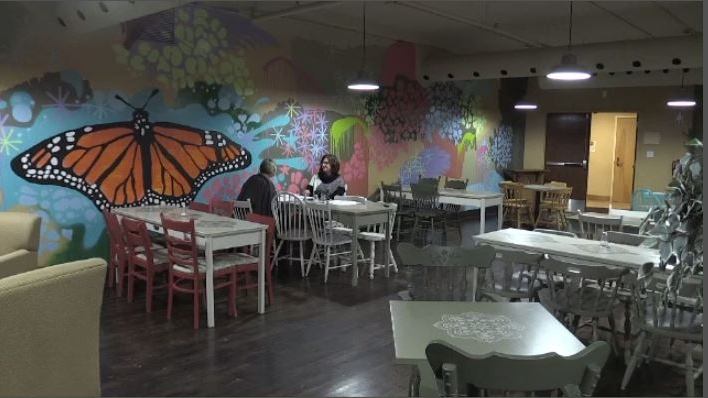Inspiration Cafe is a safe space and a second chance for those working with mental illness.