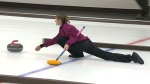 Curling competition in Banff and Canmore