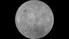 The far side of Earth's moon