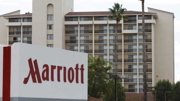 Marriott hotel in Santa Clara, Calif.