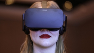 A virtual realty presentation ahead of CES