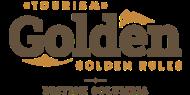 Tourism Golden Logo