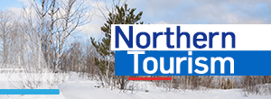 Northern Tourism winter button