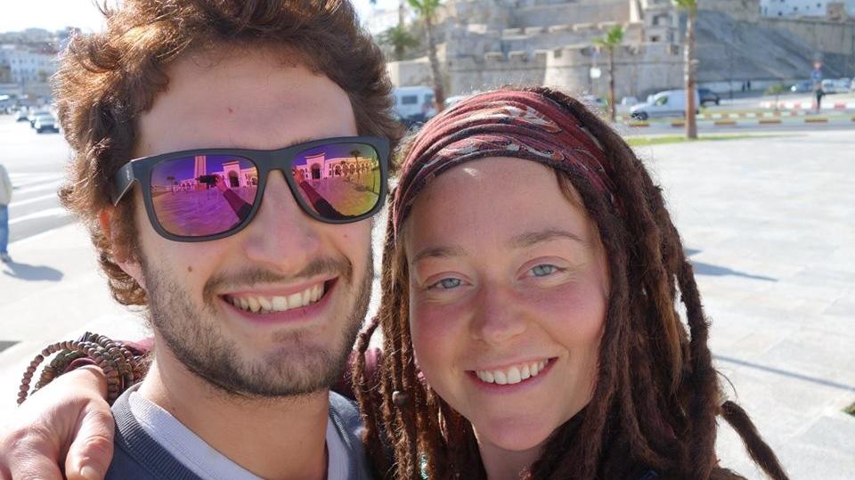 Edith Blais, 34, and her friend Lucas Tacchetto, 30, were last heard from on Dec. 15. (Edith Blais et Luca Tacchetto : disparition au Burkina Faso/Facebook)