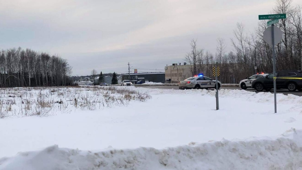 RCMP spokesman Sgt. Nick Arbour says police were called to an area near the Greater Moncton Romeo LeBlanc International Airport at around 3 p.m. on Jan. 5, 2019.