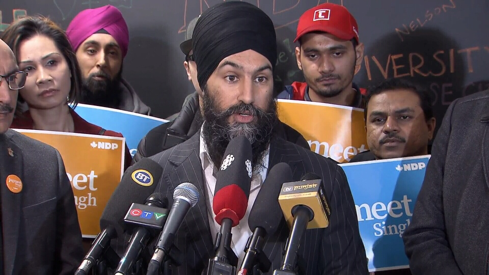 NDP Leader Jagmeet Singh calls on the federal government to set a date for the Burnaby South byelection.