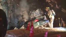 Fatal crash on Sudbury's Big Nickel Mine Road