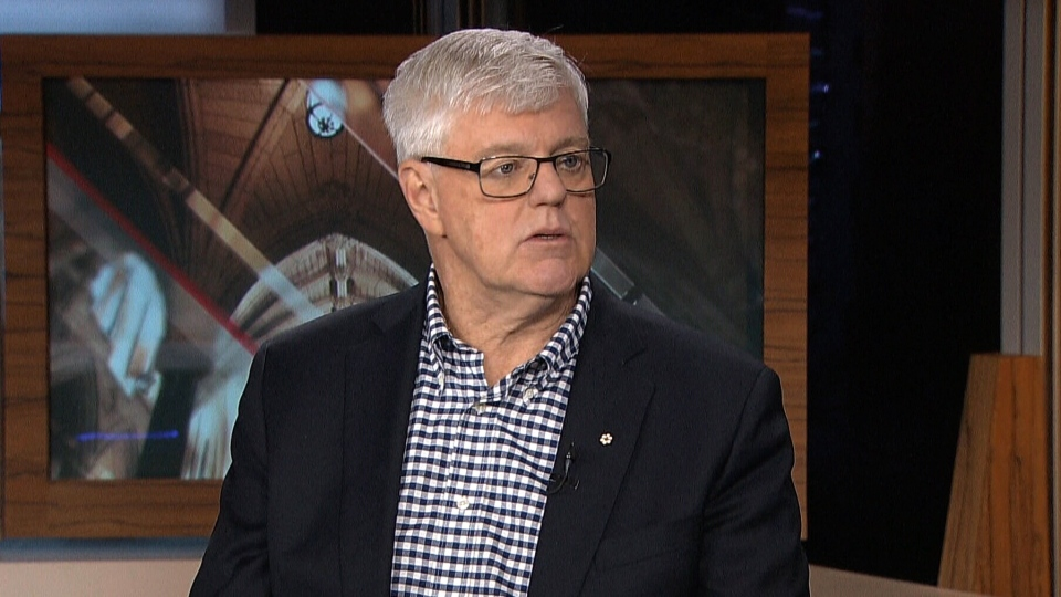 Former foreign affairs minister John Manley speaks to CTV's Power Play on Monday, January 7, 2019.