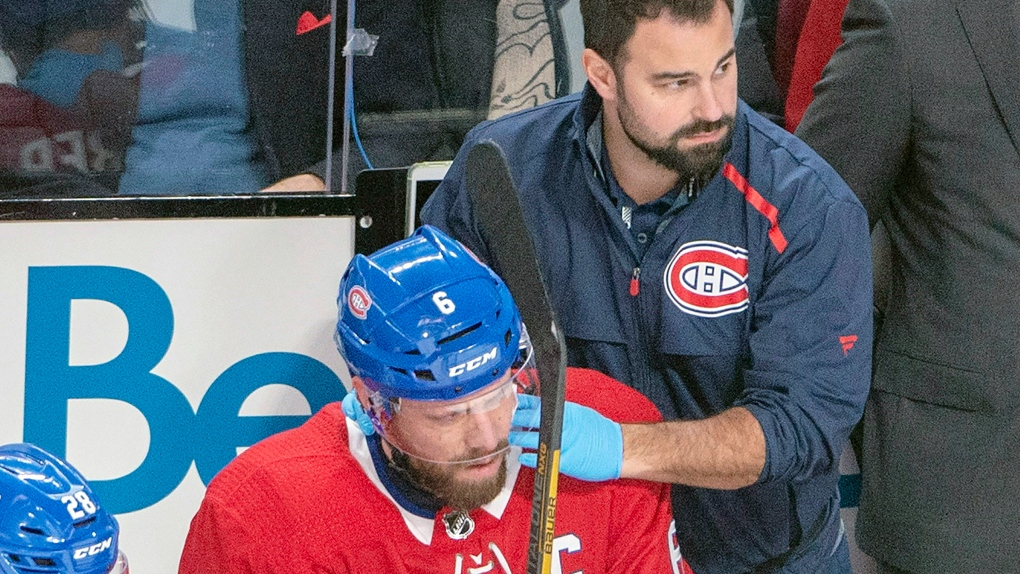 Canadiens' Weber out 4 to 6 weeks with left ankle injury