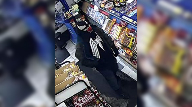 Man robs convenience store