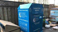 Donation box death