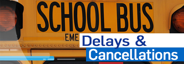 School bus cancellations and delays