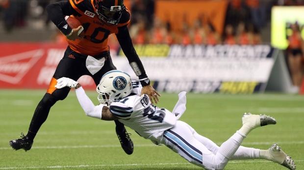Toronto Argos re-sign defensive back Qudarius Ford through 2020