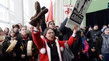 PM Justin Trudeau protested in Ottawa