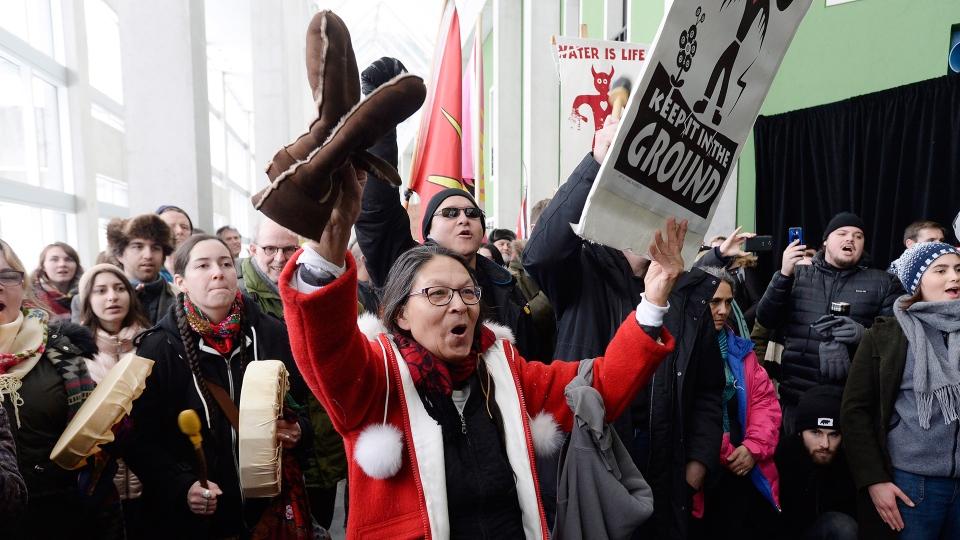 PM Justin Trudeau protested in Ottawa