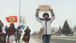 RCMP protest