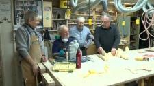 Seniors woodshop