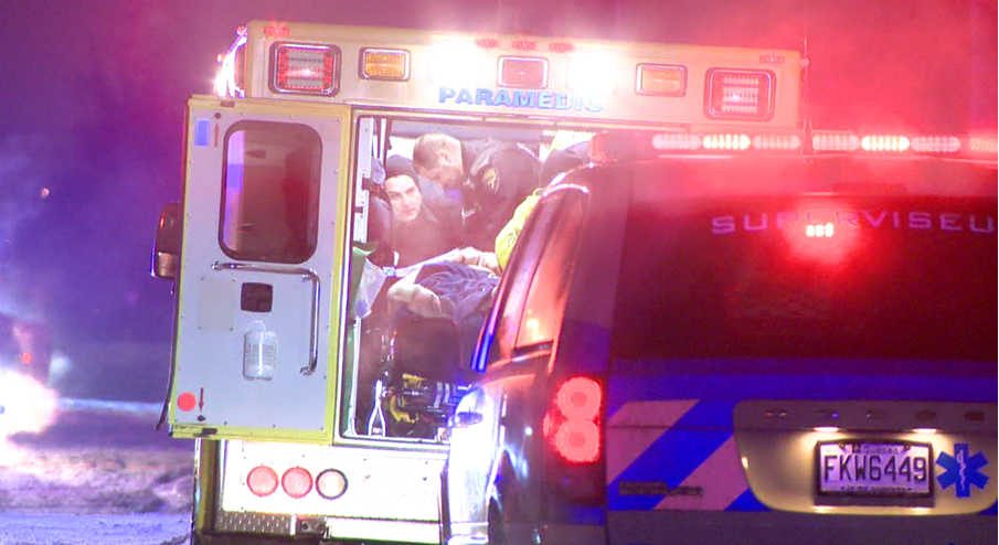 When first responders arrived, the driver was unconscious and in cardio-respiratory distress. They attempted resuscitation, but he was prounounced dead shortly afterwards. (Cosmo Santamaria/CTV Montreal)