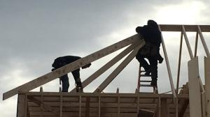 Home construction in Windsor, Ont., on Monday, Jan.7, 2018. (Bob Bellacicco ./ CTV Windsor)