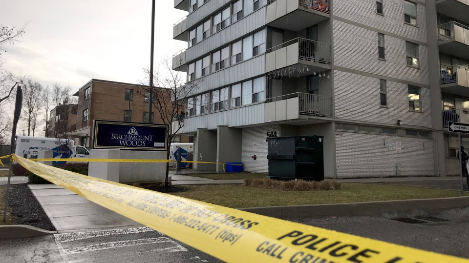 Two dead at Scarborough apartment