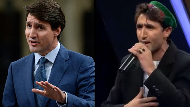 Justin Trudeau and Abdul Salam Maftoon