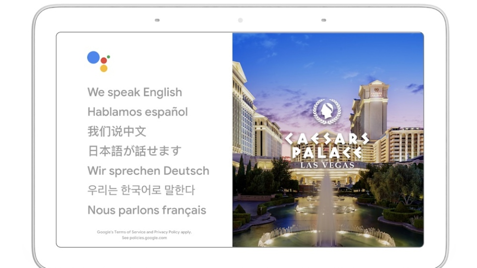 The Google Assistant will help you hold conversations in dozens of languages. (Google)